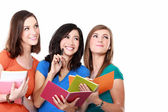 Female student together — Stock Photo
