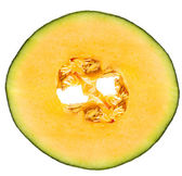 Melon fruit slice — Stock Photo