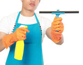 Hand with window cleaning tool — Stock Photo