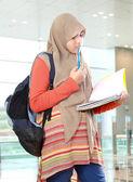Muslim kid student study — Foto de Stock