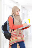 Muslim kid student study — Stock Photo