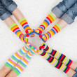 Colorful socks — Stock Photo #18389115