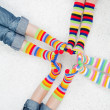 Stock Photo: Colorful socks
