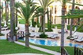 Resort swimming pool — Stock Photo