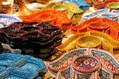 Tunisian decorated ceramics — Stock Photo