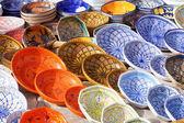 Eingerichteten keramikplatten — Stockfoto