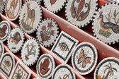 Tunisian stone mosaics — Stock Photo
