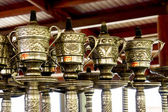 Decorated waterpipes — Stockfoto