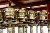 Pipes à eau décorées — Photo