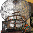 Decorated birdcage in tunisibazaar — Stock fotografie #12372633