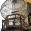 Decorated birdcage in tunisibazaar — Foto Stock #12372633