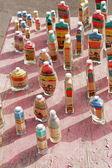 Colorful Saharan sand — Stock Photo