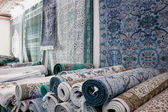 Handmade carpets in Kairouan — Stock Photo