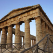 The greek doric temple of Segesta in Sicily — Stock Photo