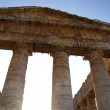Stock Photo: Facade of Segesttemple in Sicily
