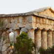 The greek temple of Segesta in Sicily — Stock Photo