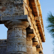 Stock Photo: Fronton of greek temple of Segestin Sicily