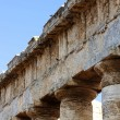 The trabeation of the Segesta temple in Sicily — Stock Photo
