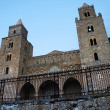 External view of Cathedral of Cefalu' in Sicily — Stock Photo #13215430