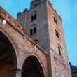 ストック写真: Facade of Cathedral of Cefalu' in Sicily