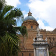 Stock Photo: External view of Cathedral of Palermo in Sicily