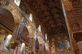 Palatinen kapellet i palermo på sicilien — Stockfoto