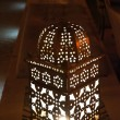 Metallic oriental lantern - Stock Photo