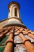 Dak opbouwen met torentje — Stockfoto