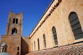 Campanário da catedral de monreale, na sicília — Foto Stock