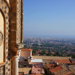 Panorama view of the city of Palermo — Stock Photo