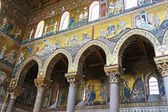 Interiors of the Monreale Cathedral in Sicily — Stock Photo