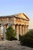 The greek temple of Segesta in Sicily — Stock Photo