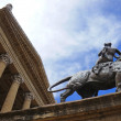 The Teatro Massimo of Palermo in Sicily — Stock Photo