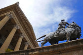 The Teatro Massimo of Palermo in Sicily — 图库照片