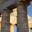The greek temple of Segesta in Sicily — Stock Photo #13665201