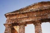 греческий храм сегесты в сицилии — Стоковое фото