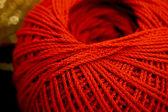 Hilo rojo — Foto de Stock