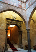 Interiors of the Palace of Normans in Palermo,Sicily — Stock Photo