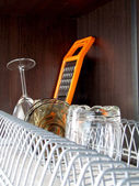 Clean dishes — Foto Stock
