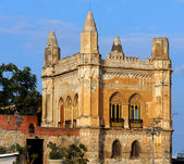 Florio Palace at the Arenella of Palermo in Sicily — Stock Photo