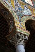 Mosaicos na cúpula de monreale, na sicília — Foto Stock
