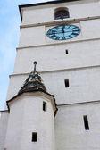 La torre di consigli di sibiu in romania — Foto Stock