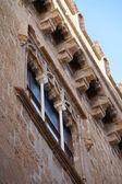 The facade of Palazzo Abatellis — Stock Photo