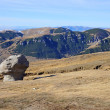 Babele rocks on Bucegi Mountains in Romania — Stock Photo