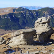Babele rocks on Bucegi Mountains in Romania — Stock Photo #26662211