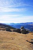 Babele rocks on Bucegi Mountains in Romania — Stock Photo