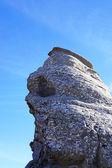 The sphinx on Bucegi Mountains in Romania — Stock Photo