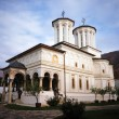 Stock Photo: Polovragi monastery in Romania