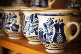 Handpainted Romanian Ceramics — Stock Photo