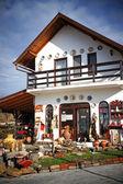 Ceramic Pottery Shop in Horezu, Romania — Stock Photo